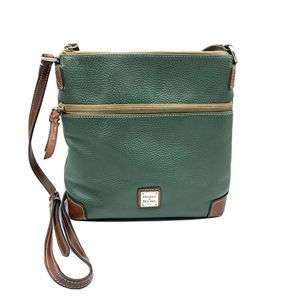 Dooney & Bourke hunter pebbled leather crossbody